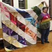 Susan Kraterfield - Upcycled quilt
